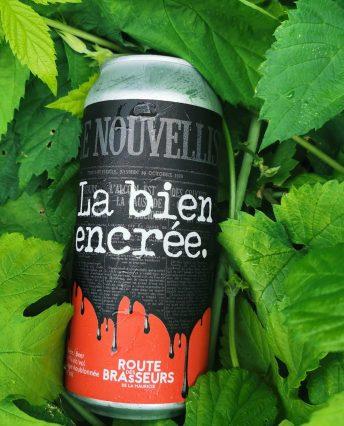 La Bien Encrée, bière anniversaire brassée pour les 100 ans du Nouvelliste